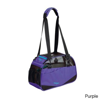 Bergan Voyager Dog or Cat Carrier (Option: Purple - Large)