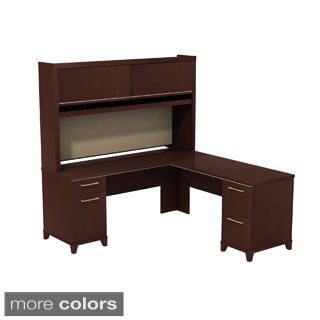 BBF Enterprise L-Desk with Hutch