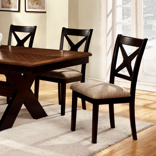 Furniture Of America Berthetta 7 Piece Dining Set With Leaf   Free Shipping  Today   Overstock.com   16328804