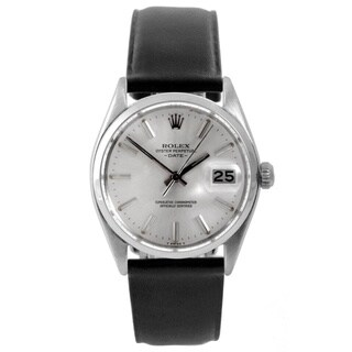 Pre-Owned Rolex Men's 1500 Date Watch Dial and Black Leather Strap|https://ak1.ostkcdn.com/images/products/9148628/Pre-Owned-Rolex-Mens-1500-Date-Watch-Dial-and-Black-Leather-Strap-P16328827.jpg?_ostk_perf_=percv&impolicy=medium