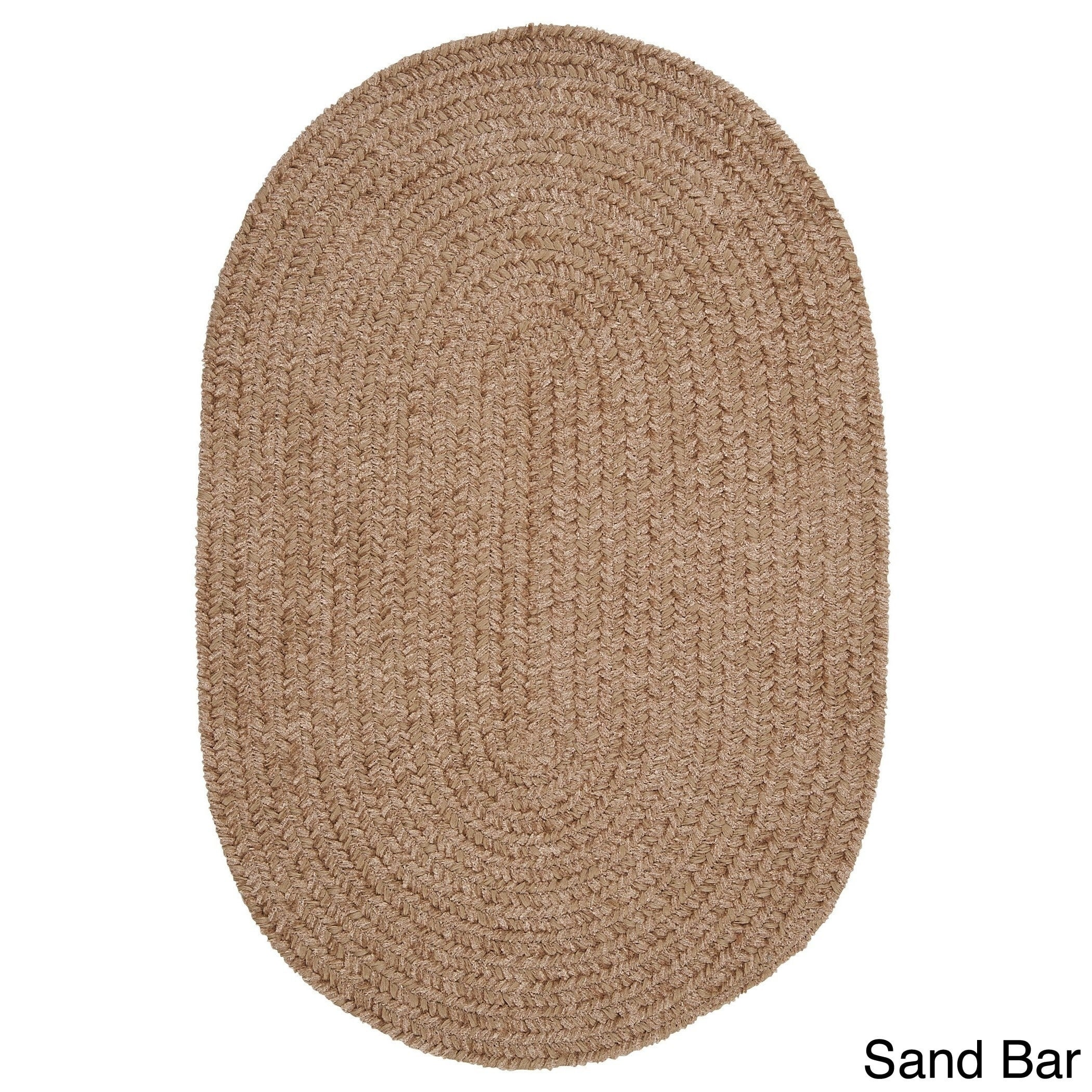 Colonial Mills Soft Chenille Area Rug (2'5 x 7') (Brown),...