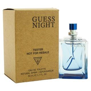Guess Night Men's 1.7-ounce Eau de Toilette Spray (Tester)