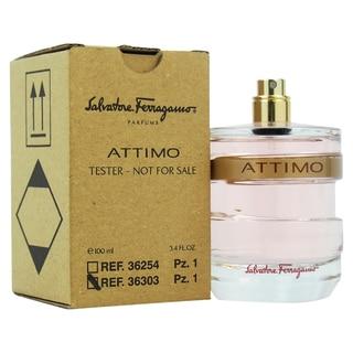 Salvatore Ferragamo Attimo Women's 3.4-ounce Eau de Parfum Spray (Tester)