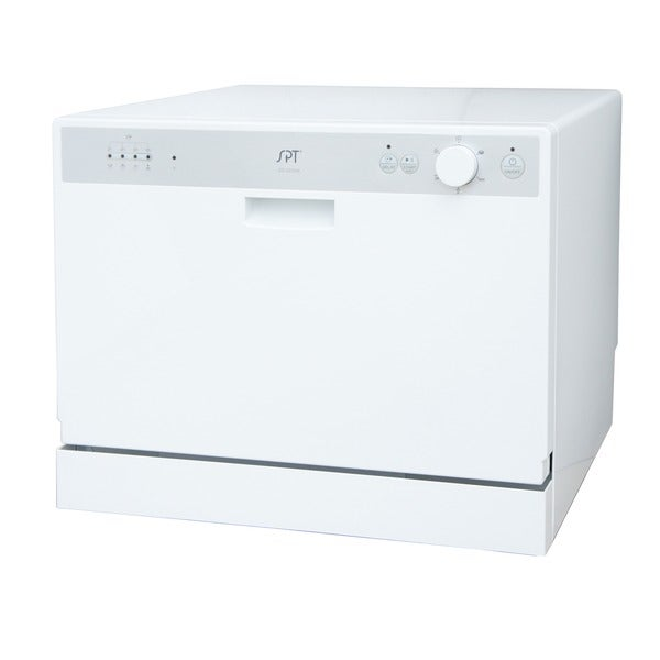 SPT SD-2202W White Countertop Dishwasher with Delay Start - Free ...