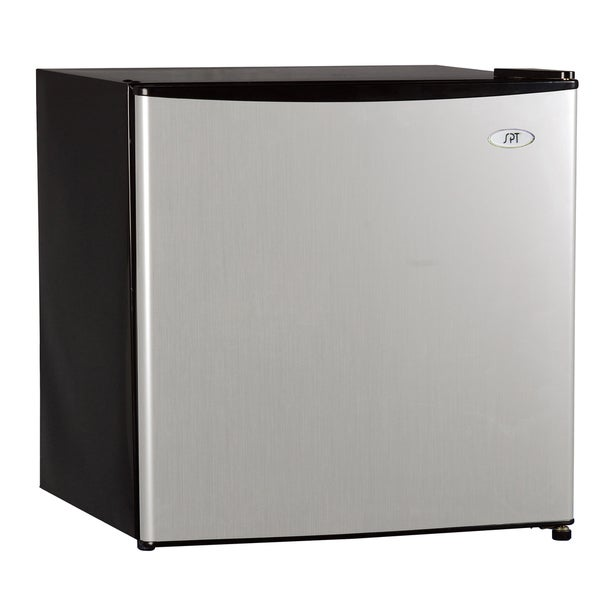 Spt Energy Star 1 6 Cubic Foot Stainless Steel