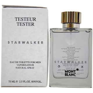 Montblanc Starwalker Men's 2.5-ounce Eau de Toilette Spray (Tester)