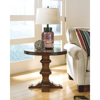 Shop Signature Designs By Ashley Gaylon Round End Table