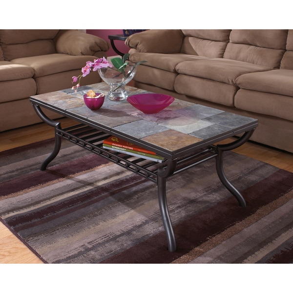 Antigo Sofa Table: Shop Signature Designs By Ashley Antigo Rectangular Black