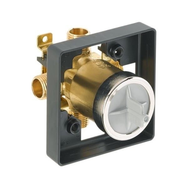 Delta MultiChoice Universal Tub / Shower Rough - Universal Inlets / Outlets R10000-UNBX. Opens flyout.