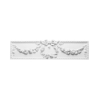 High Shabby French Chic 36-inch Pediment
