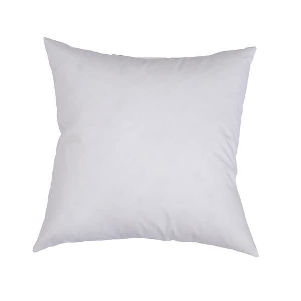 Decorator Euro Square Feather and Down Throw Pillow Insert