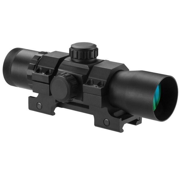 Barska 1x30mm 7-inch Tactical Long Red Dot Scope