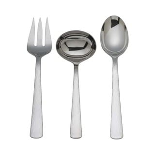 Silver Echo 3-piece Serving Set
