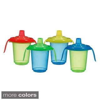 Munchkin Click Lock 8-ounce Reusable Trainer Cups (Pack of 4)