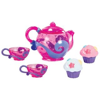 Munchkin Tea and Cupcake Bath Set in Pink