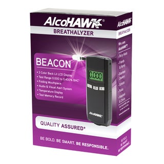 AlcoHAWK Beacon Digital Breathalyzer Alcohol Tester