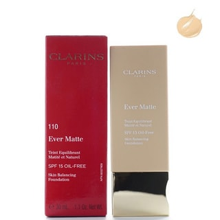 Clarins Ever Matte Skin Balancing Oil-free SPF 15 110 Honey Foundation