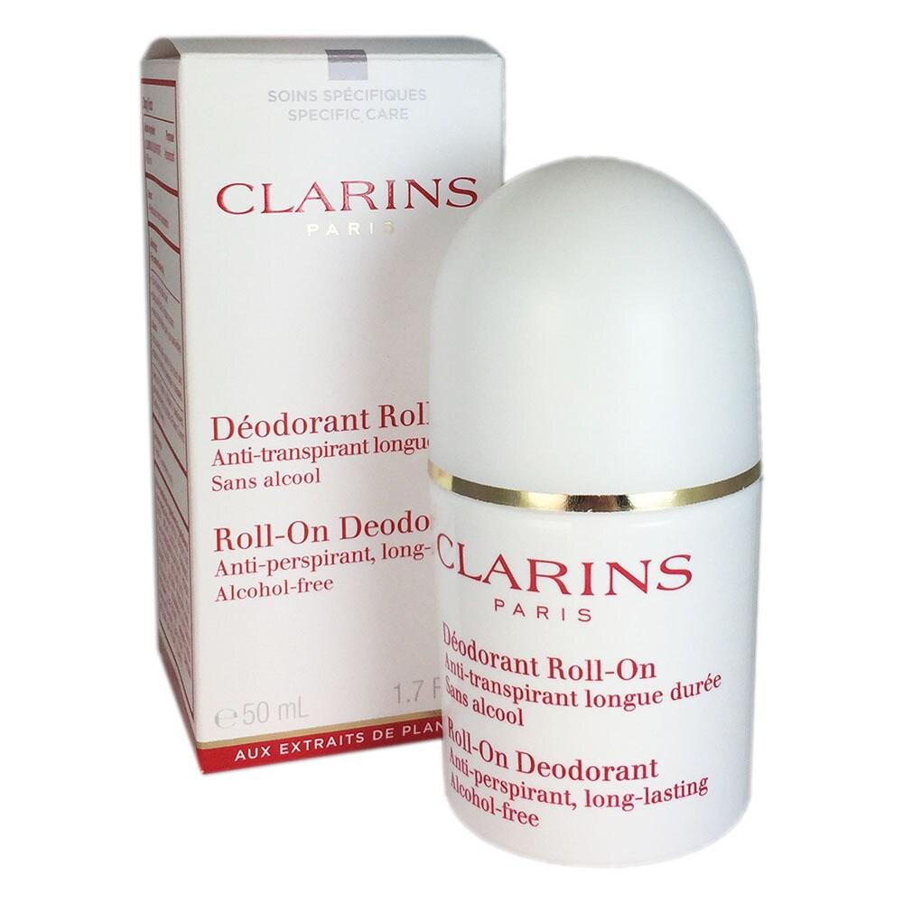 clarins deodorant roll on antiperspirant alcohol free