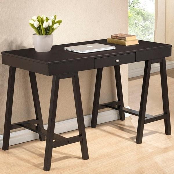 Baxton Studio Arvada Dark Brown Modern Desk