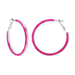 Alexa Starr Epoxy 2-sided Hoop Earrings