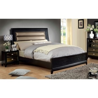Furniture of America 2-piece Bed with Nightstand Set