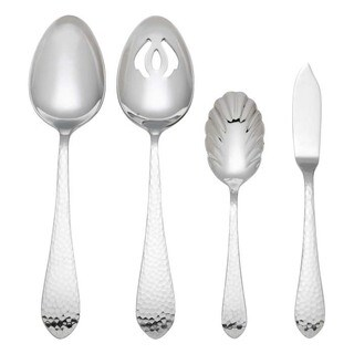 Reed & Barton Hammered Antique 4-piece Hostess Set