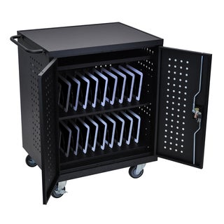 Luxor Black 42-slot Tablet/ Chromebook Computer Charging Station