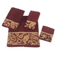 Avanti Arabesque Embellished 4-piece Towel Set