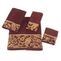 Avanti Arabesque Embellished 4-piece Towel Set