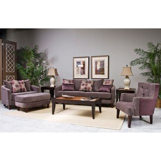 Fairmont Designs Made To Order Newton Light Purple 4-piece Sofa Set with Accent Pillows