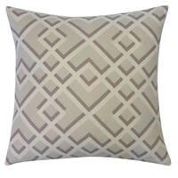 Flexi Grey Throw Pillow