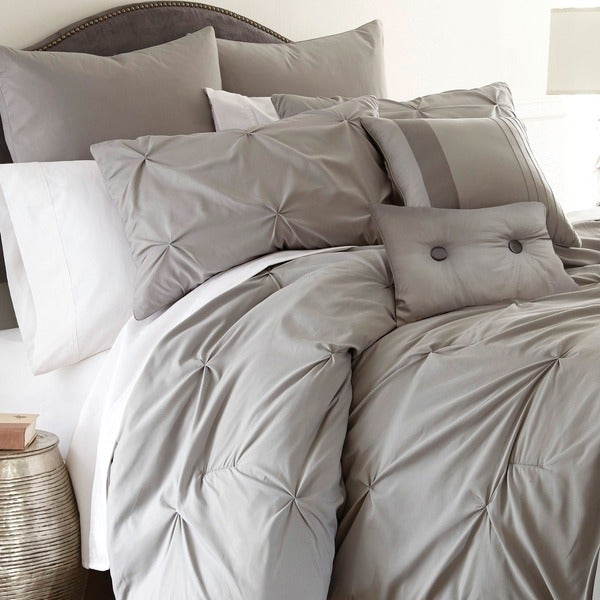 Amraupur Overseas Ella Embellished 8-piece Comforter Set