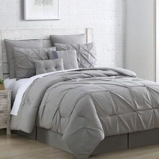 amraupur overseas ella embellished 8piece comforter set