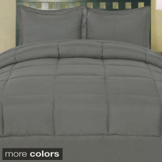 Plush Solid Color Box Stitch Down Alternative Comforter (Option: Brown)|https://ak1.ostkcdn.com/images/products/9153617/Plush-Solid-Color-Box-Stitch-Down-Alternative-Comforter-P16333311L.jpg?impolicy=medium