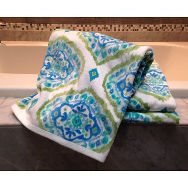 Dena Home Tangiers Collection Damask 3-piece Towel Set