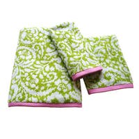 Dena Home Ikat Collection Jacquard 3-piece Towel Set