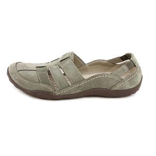 Clarks Women's 'Haley Stork' Regular Suede Sandals (Size 10 )
