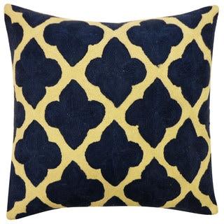 Maharani Blue Throw Pillow