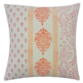 Sharma Cream Throw Pillow