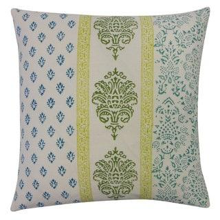 Mahal Blue Throw Pillow