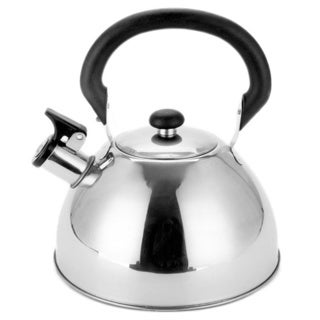 Stainless steel 2 5 quart whistling tea kettle free for Alpine cuisine tea kettle