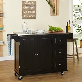 Stainless Steel Kitchen Carts For Less | Overstock.com