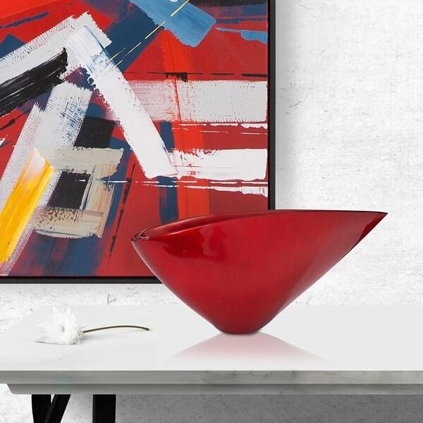 Small Asymmetrical 'V' Vase