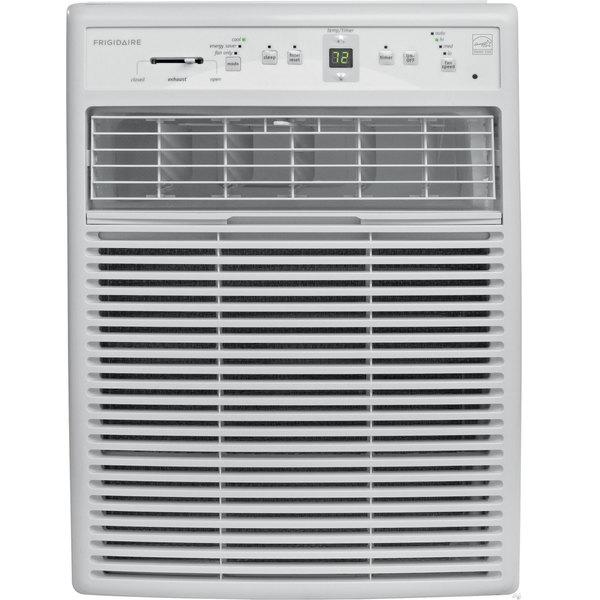 frigidaire 8 000 btu slider casement air conditioner free shipping today. Black Bedroom Furniture Sets. Home Design Ideas