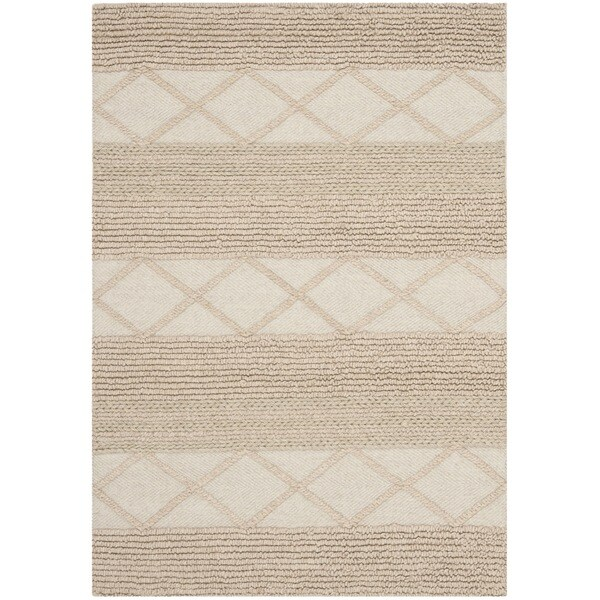 Safavieh Hand-Tufted Natura Beige Wool Rug (2' x 3')