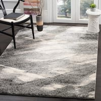 Safavieh Retro Mid-Century Modern Abstract Grey/ Ivory Rug - 10' x 14'
