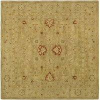 Safavieh Antiquity Brown/ Beige Rug - 4' x 4' Square