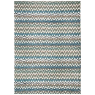 Safavieh Handmade Cedar Brook Teal/ Blue Cotton Rug (8' x 11')