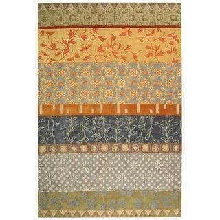 Safavieh Handmade Rodeo Drive Bohemian Collage Multicolored Wool Rug (8' x 10')