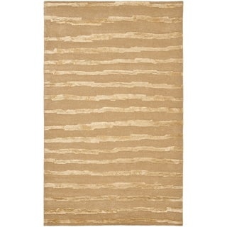 Safavieh Hand-Tufted Soho Beige/ Gold Wool Rug (8' x 10')
